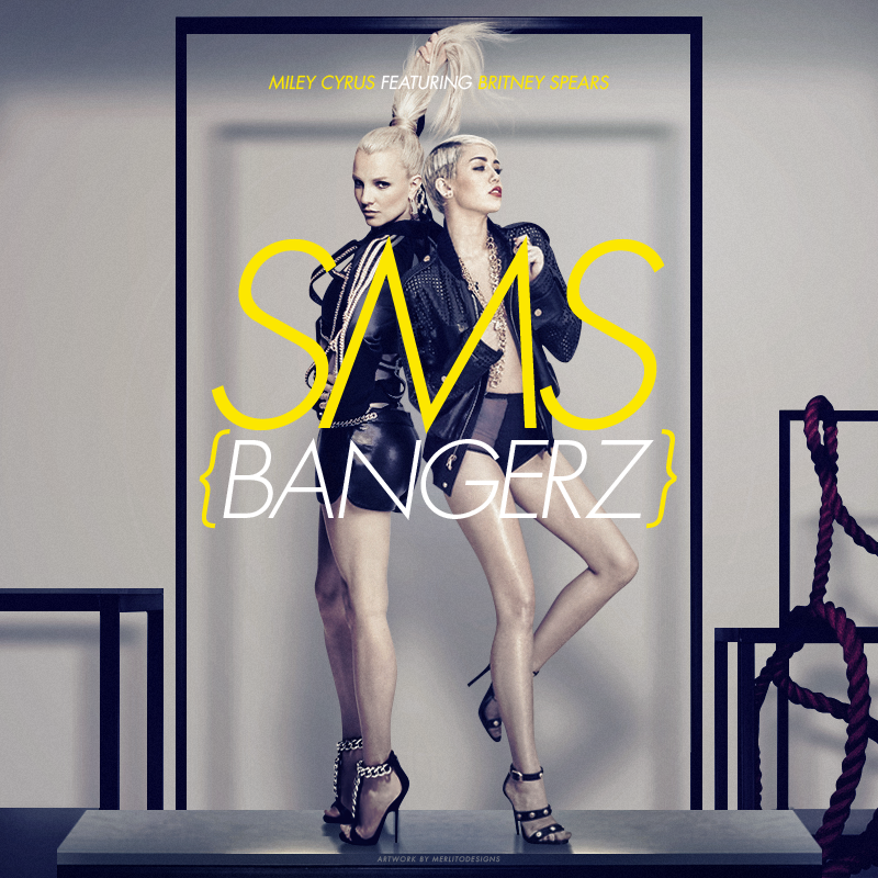 Image result for Miley Cyrus - SMS (Bangerz)