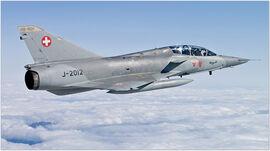 Fly-fighter-jet-mirage-3-switzerland-1