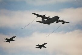 Spanish KC-130H and F-18