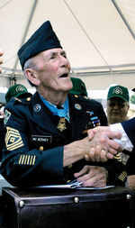 Medal of Honor Recipient McNerney Honored at Fort Carson