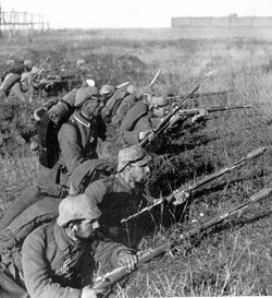 German soldiers Battle of Marne WWI