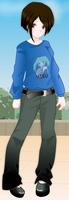 Iona as an Anime Girl