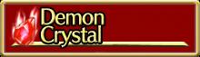 Demon Crystals
