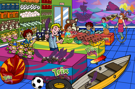 Trix ®, Toys & Games