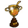 Choose Breakfast Challenge 3rd Place Trophy