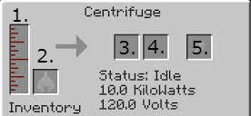 Centrifuge GUI