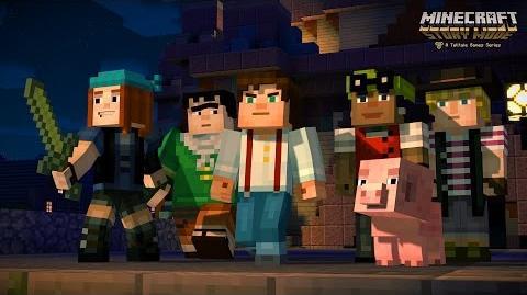 Minecraft Story Mode Minecon 2015 Trailer