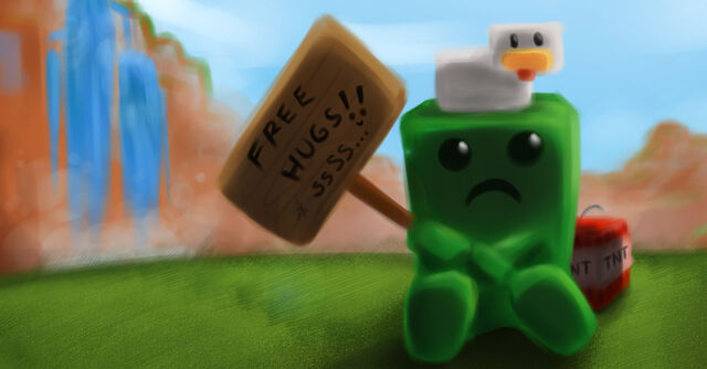 File:Minecraft free hugs by indignation-d35yflu-e1380035358189.jpg