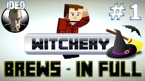 Witchery Mod Tutorial - Brews in Full