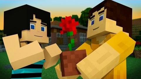 """♪ """"That Girl is Crafty"""" ORIGINAL MINECRAFT SONG by TryHardNinja"""