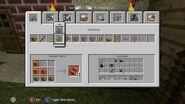 Xbox Minecraft Crafting GUI