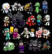 Minecraft Chibies 3