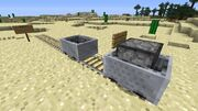 Minecart with furnace