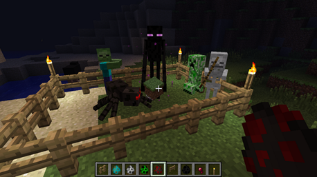 File:Minecraft Mobs.png
