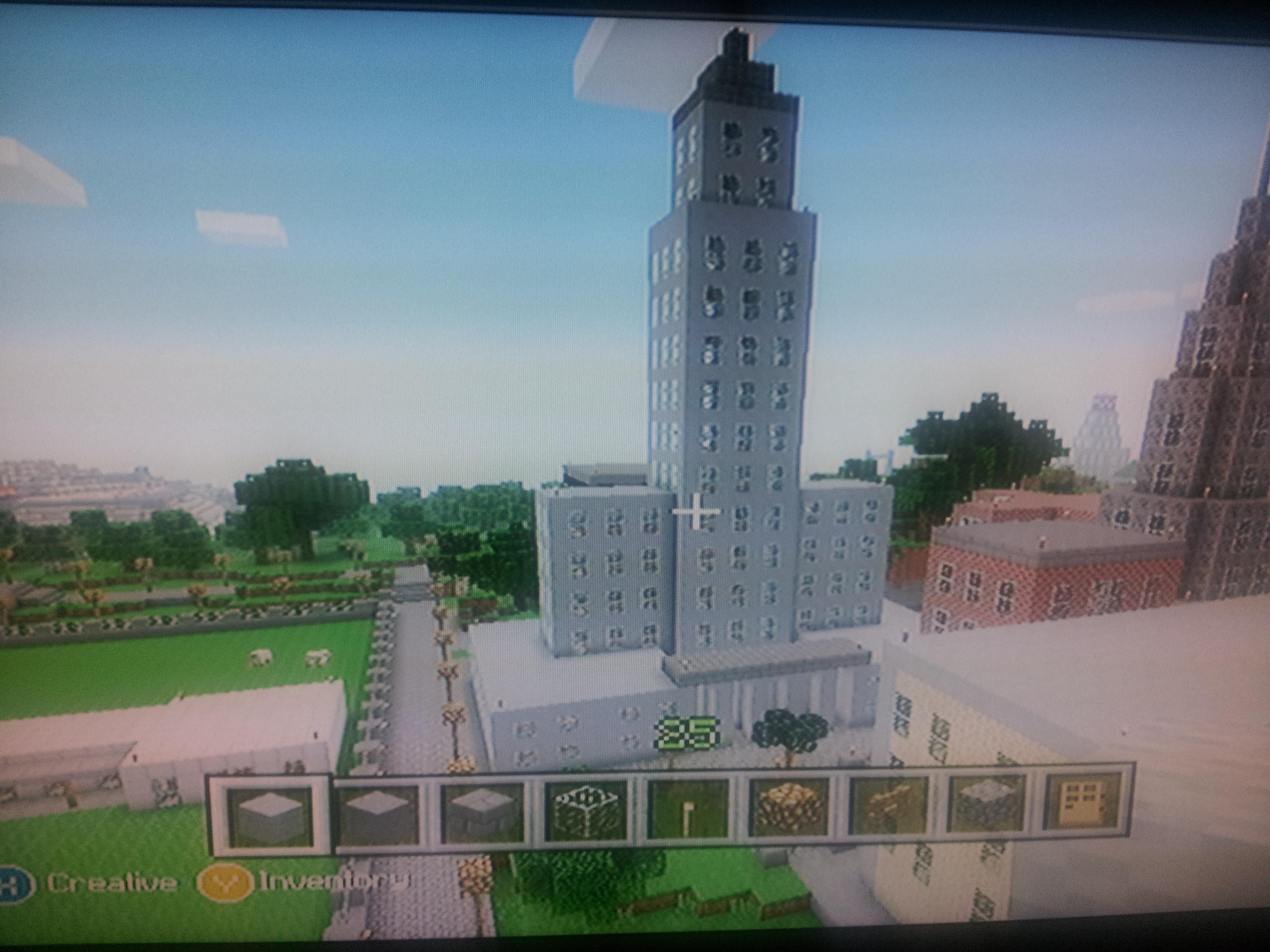 Minecraft SkyscraperPage Forum World Made Entirely Of Discussion - Minecraft xbox 360 los angeles map download