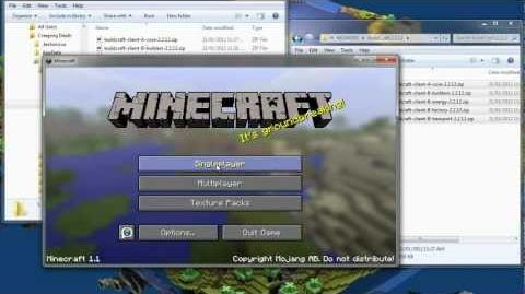 Minecraft How to Install BuildCraft Mod