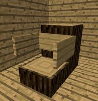 Log Arm Chair