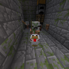 Baby Pigman-Chicken Jockey