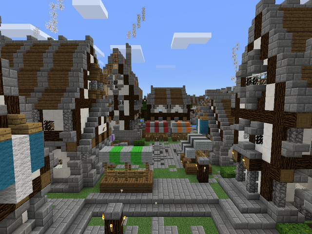 File:Minecraft medieval city centre.png