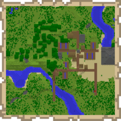 A Map with Generated Structures