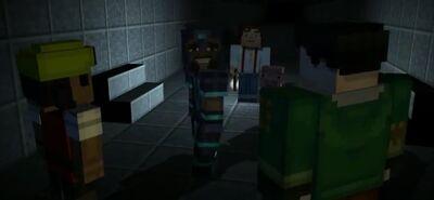 Gabriel in Soren's mob grinder
