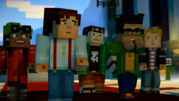 The Gang in the Order Hall