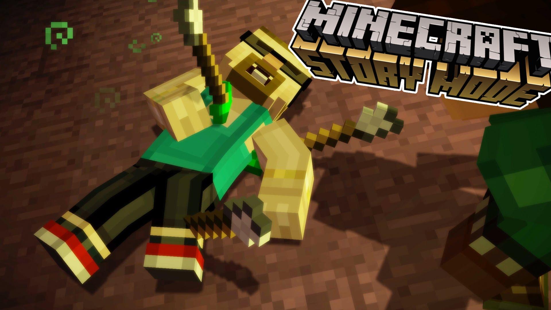 Minecraft Story Mode Reuben Death Reaction Toko Pedl
