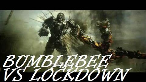 Bumblebee vs Lockdown Transformers Age Of Extinction