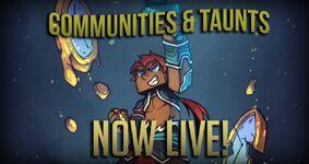 Communities Release