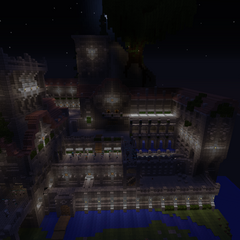 The front view of Sunstone Stronghold.