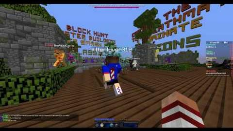 Throwing a Treasure Party Bomb on Mineplex