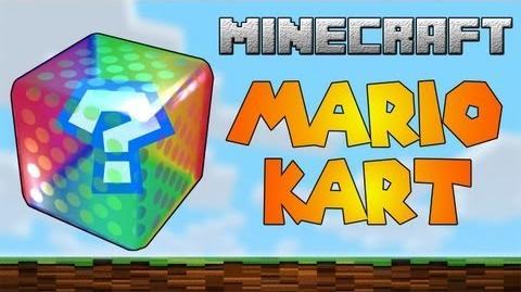 MineKart Mario Kart on MineCraft