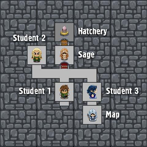 Floor 1-2 map