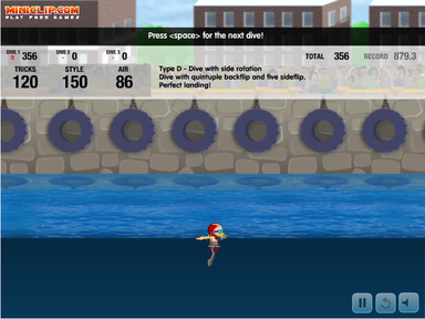 Stunt Dive Perfect Landing-1-