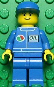 Octan Blue Oil with Blue Cap