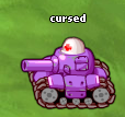 Minitroopers Cursed Tank