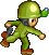 Sprite Soldier Olive PAS toss Grenade