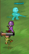Minitroopers Support risk