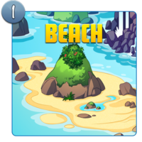 Water Island Beach Icon