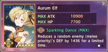 Aurum Elf Exchange Box