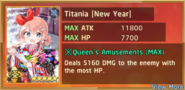 Titania New Year Summon Preview