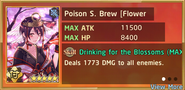 Poison S. Brew Flower Viewing Summon Preview