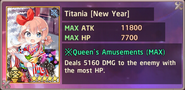 Titania New Year Exchange Box