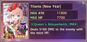 Titania New Year Exchange Box