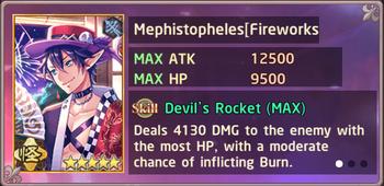 Mephistopheles Fireworks Exchange Box