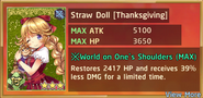 Straw Doll Thanksgiving Summon Preview