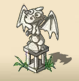 Small Dragon Statue
