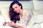 Miranda kerr with cup and saucer 5