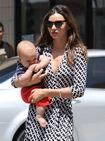 11309 Preppie Miranda Kerr out with baby Flynn at the nail salon 10 122 115lo