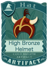 High Bronze Helmet 1